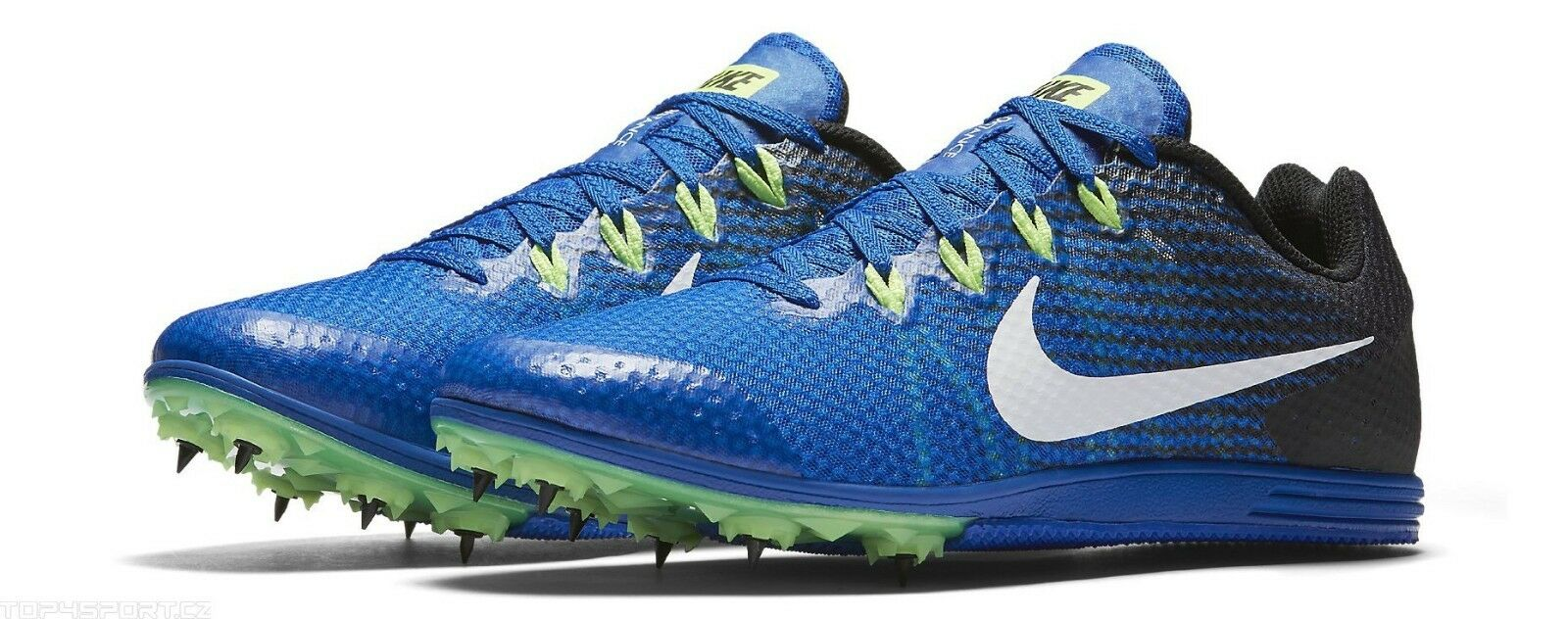 NEW Nike Zoom Rival D 9 Men's Spikes Track Field Racing 806556 413 Blue Price reduction Seasonal price cuts, discount benefits