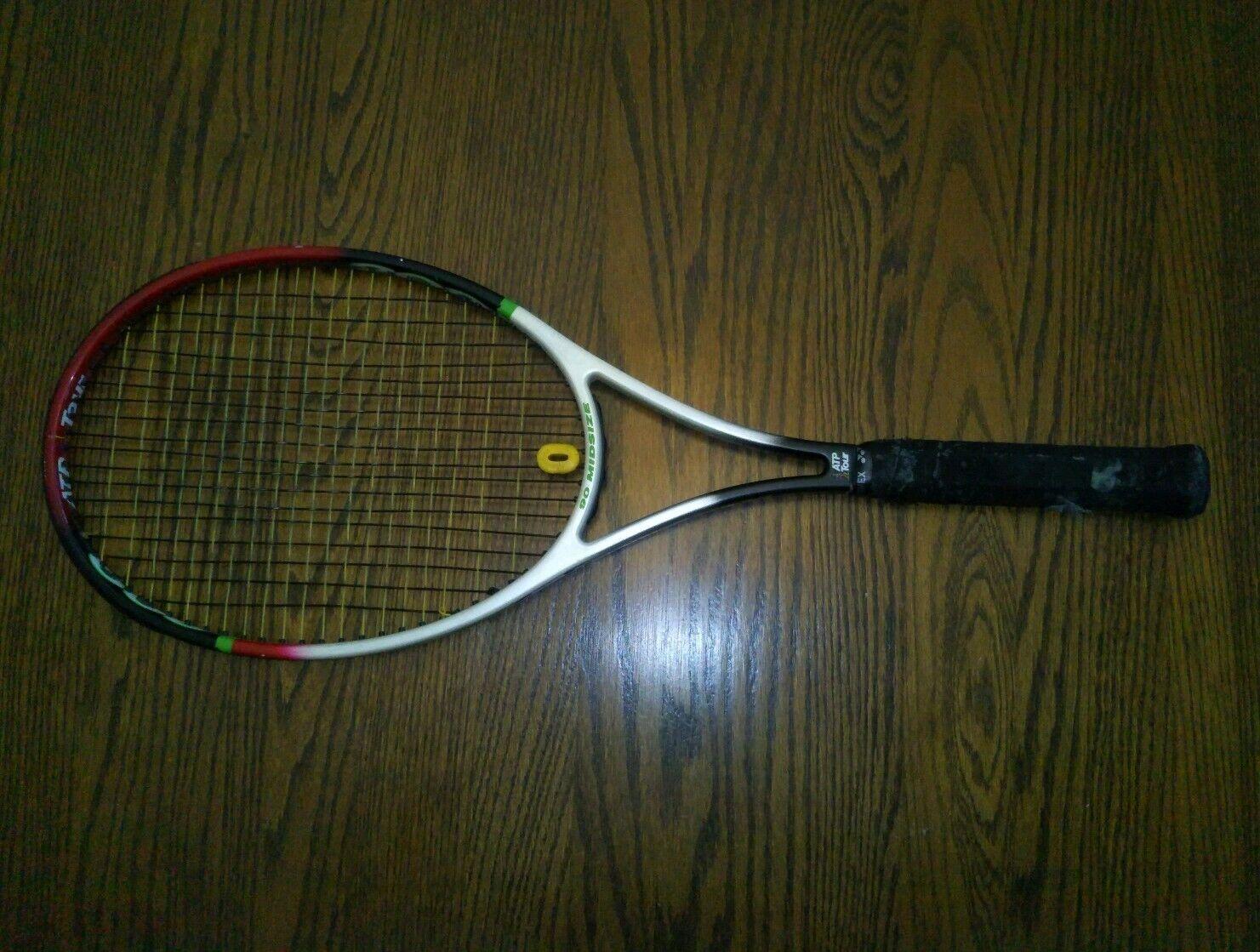 Vintage Spalding ATP Tour 200 Raquette De Tennis Grip 4 3 8  moyennes 90 Pro tressé