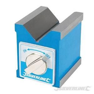 70mm-magnetico-a-V-V-BLOCCO-PER-FRESATRICE-TORNIO-SUPPORTO-ML7-Boxford-CNC