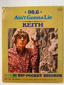 KEITH-Ain-039-t-Gonna-Lie-B-W-98-6-HIP-POCKET-HP20-4-034-45rpm-Vinyl-SEALED