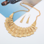 Fashion-Women-Crystal-Bib-Pendant-Choker-Chunky-Statement-Chain-Necklace-Earring thumbnail 125