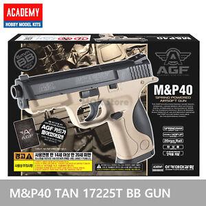 ACADEMY-M-amp-P-40-TAN-17225T-Airsoft-BB-Toy-Gun-Replica-Full-Size-Non-Metal-Pistol