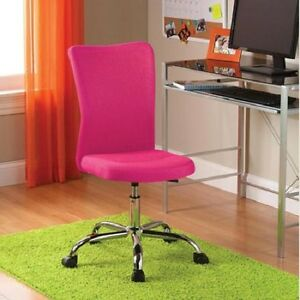 Groovy Details About Girls Office Chair Adjustable Furniture Computer Pink Desk Seat Youth Teen New Gmtry Best Dining Table And Chair Ideas Images Gmtryco