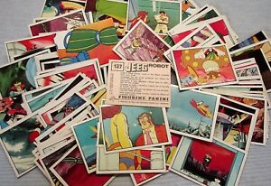 JEEG ROBOT-PANINI 1979-FIGURINA a scelta-STICKER at choice-NUOVE/NEW