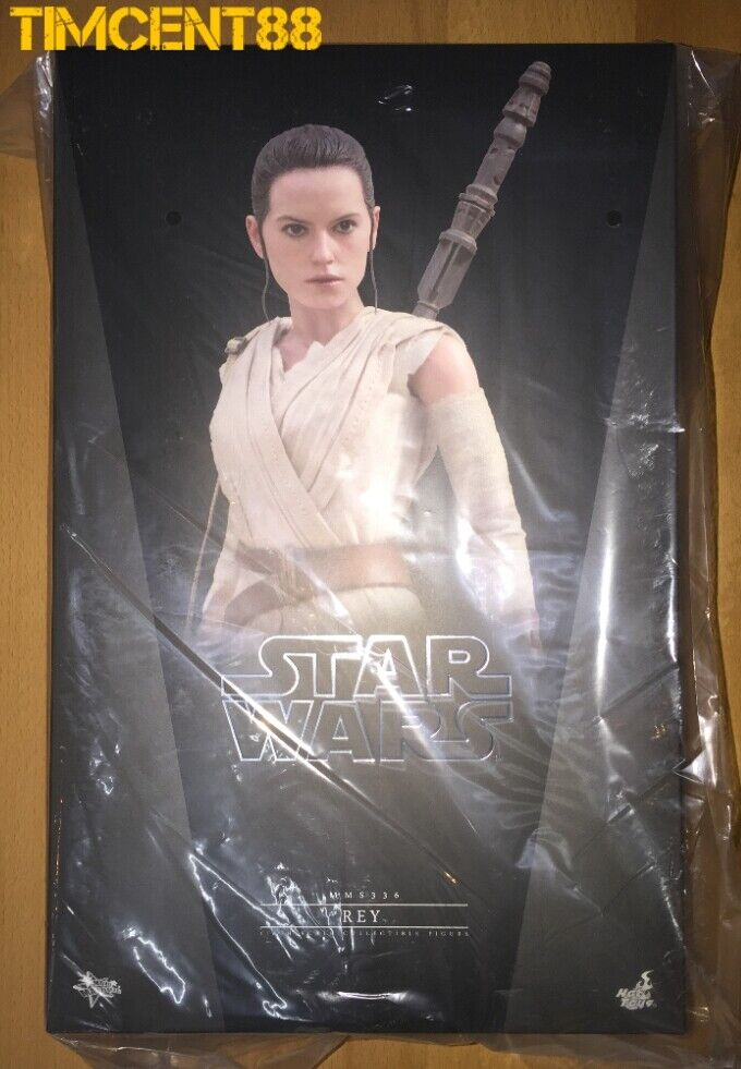 Pronti caliente giocattoli MMS336 estrella guerras EP VII The Force Awakens 1 6 Rey Daisy Ridley