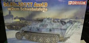 DRAGON-WWII-GERMAN-HALF-TRACK-WITH-2CM-GUN-1-35-SCALE-MODEL-KIT