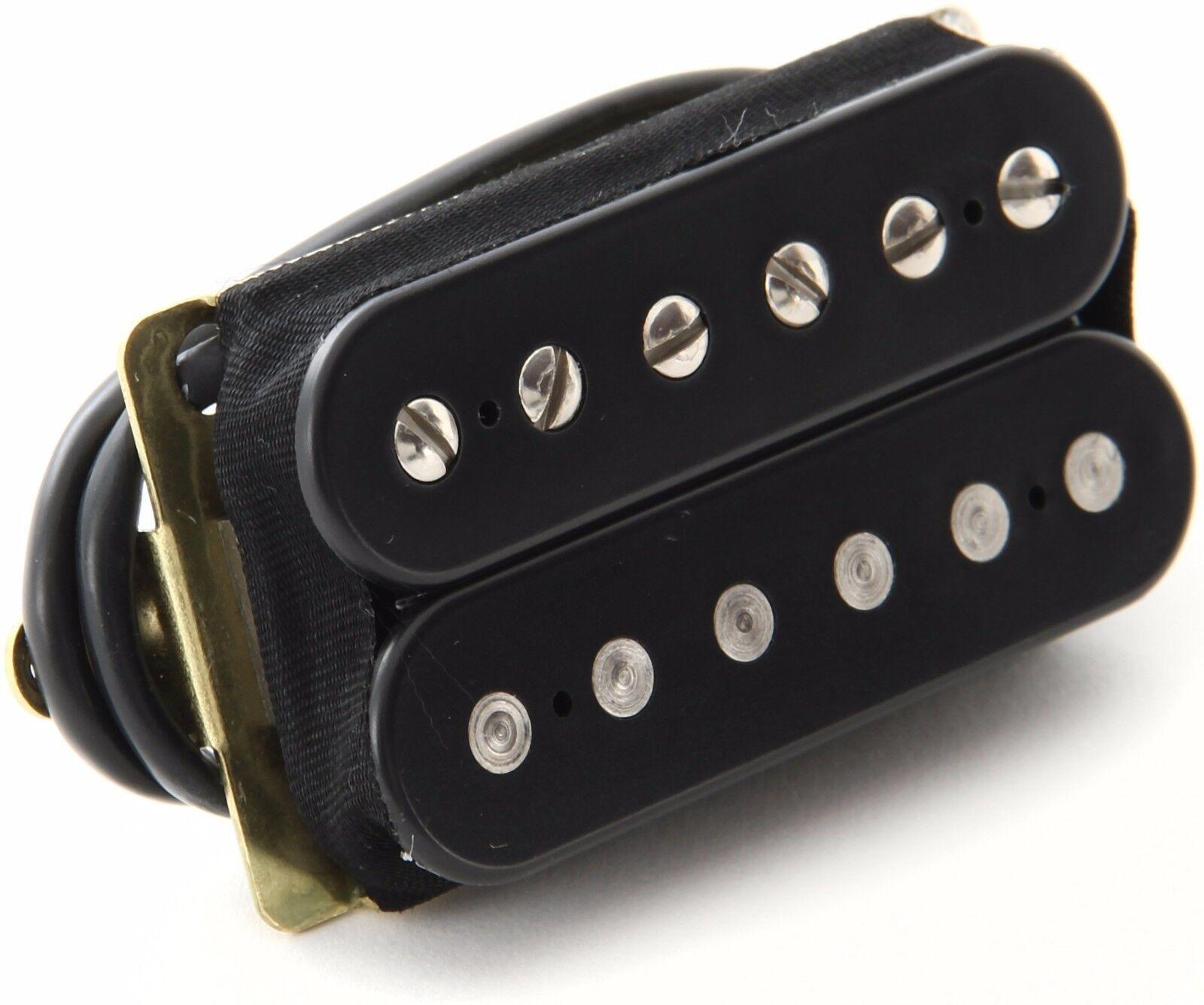 Neu Dimarzio Dp223 Paf Humbucker 36th Jubiläum Gitarre Pickup Schwarz F-Spaced