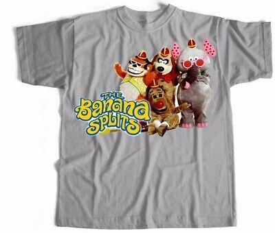 Banana Splits T Shirt Cartoon Kids 70S 80S 90S Tv Vintage Retro Mens