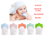 thumbnail 1 - New UK Baby Silicone Teething Mitten Glove Soft Candy Wrapper Teether BPA Free