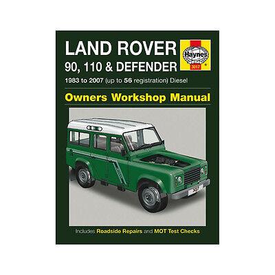 Land Rover 90 110 Defender 2.25 2.5 Diesel 83-07 (up to 56 Reg) Haynes Manual