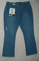 Womens Route 66 Heavy Denim Blue Jeans Boot Relaxed 18 16 18s 17s 16s Leg29