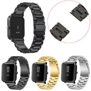 Stainless-Steel-Bracelets-Watch-Straps-Bands-For-Xiaomi-Amazfit-Bip-Youth-Watch