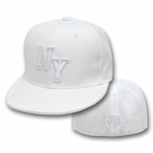 HIP HOP FLAT FITTED CAP NEW YORK NY  LOS ANGELIS DDECK14