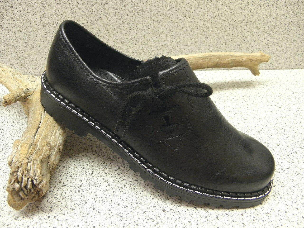 Zapatos casuales tiempo salvajes Descuento por tiempo casuales limitado Bleil ® reduziert bisher  99,95  Trachten, Haferl Leder schwarz (A15) 370bb3
