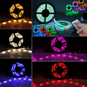 Ultra-Bright-5M-SMD-3528-LED-Strip-Tape-Ribbon-Tape-Roll-Rope-Light-Lamp-Adapter