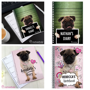 Image Is Loading PERSONALISED PUG GIFTS Pug Dog Lovers Christmas Present