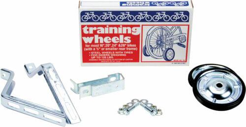 "WALD 742 TRAINING WHEELS 16/"" to 26/"" Steel Kids-Adults  Bikes"