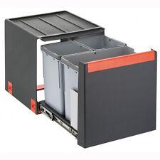 FRANKE Sorter Cube 40 / Automatikauszug Abfalltrennsystem / 1 x 14 l / 2 x 7 l B