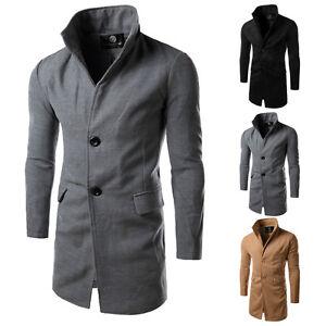 pea coat herren sakko mantel parka lang trenchcoat jacke. Black Bedroom Furniture Sets. Home Design Ideas