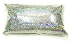 """6oz / 177ml Silver Jewels Holographic Metal Flake .015"""" Paint Additive LF066"""