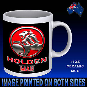 Novelty Cup Details About Man Gift Car Present Mug Ceramic Holden 11oz Chrome Idea Coffee TOPkiXuZ