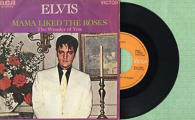 ELVIS PRESLEY Mama Liked The Roses RCA 3-10535 Pressing Spain 1970 45 Single EX   eBay