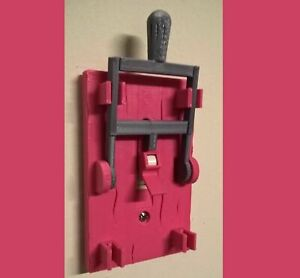 Frankenstein-Light-Switch-Cover-Plate-Flip-Handle-Decor-Single-PINK