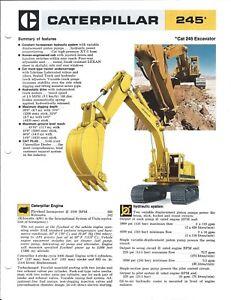 Equipment-Brochure-Caterpillar-245-Excavator-c1977-E4877