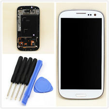 Neuf ECRAN COMPLET LCD + TACTILE SUR CHASSIS SAMSUNG GALAXY S3 i9305 BLANC