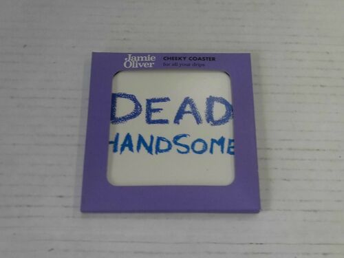 Jamie Oliver Cheeky Coaster Dead Handsome