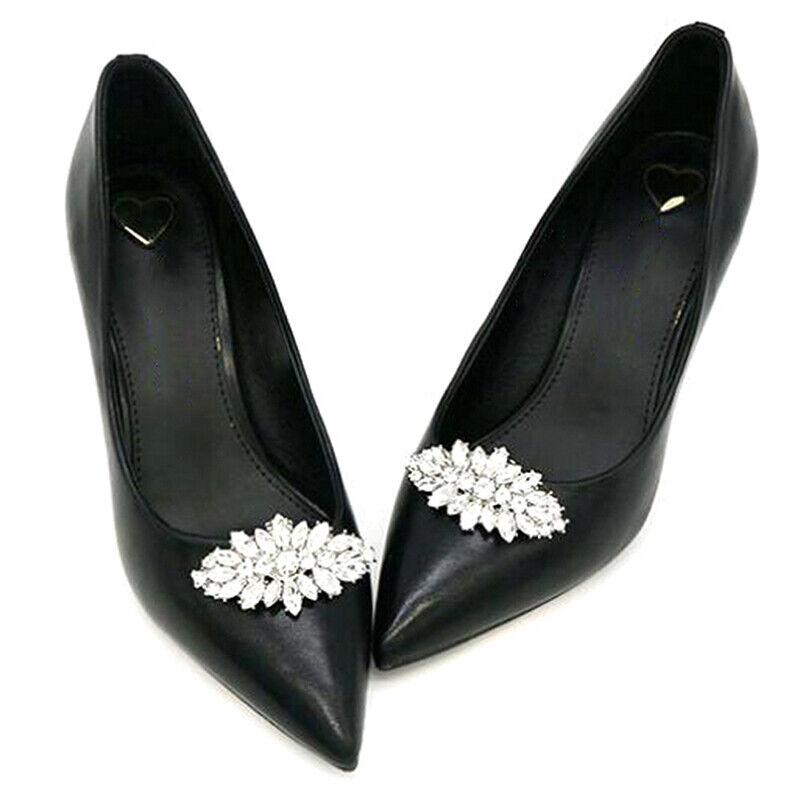 Shoe Clips DIY Rhinestone Decoration Women High Heels Bag Dress Shoe Accessor_hg