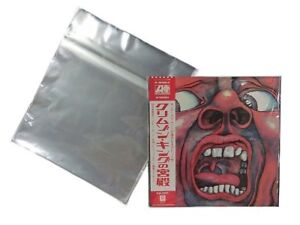 100-Plastic-Record-Outer-Sleeves-C-12-034-LP-LD-Designed-by-Vintage-Music-Japan-1