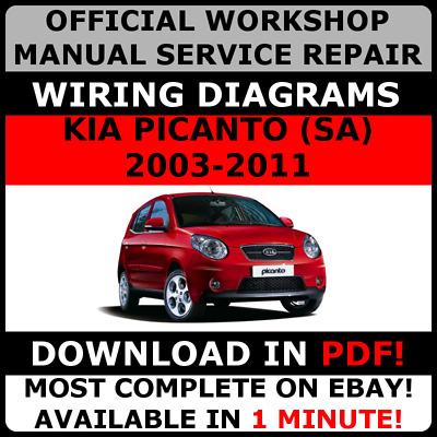 Official Work Repair Manual For Kia, Kia Picanto Wiring Diagram Pdf