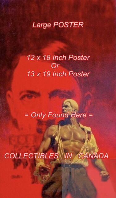DOC SAVAGE 1979 #94 Hate Genius HITLER = POSTER Not Artwork 2 SIZES 18