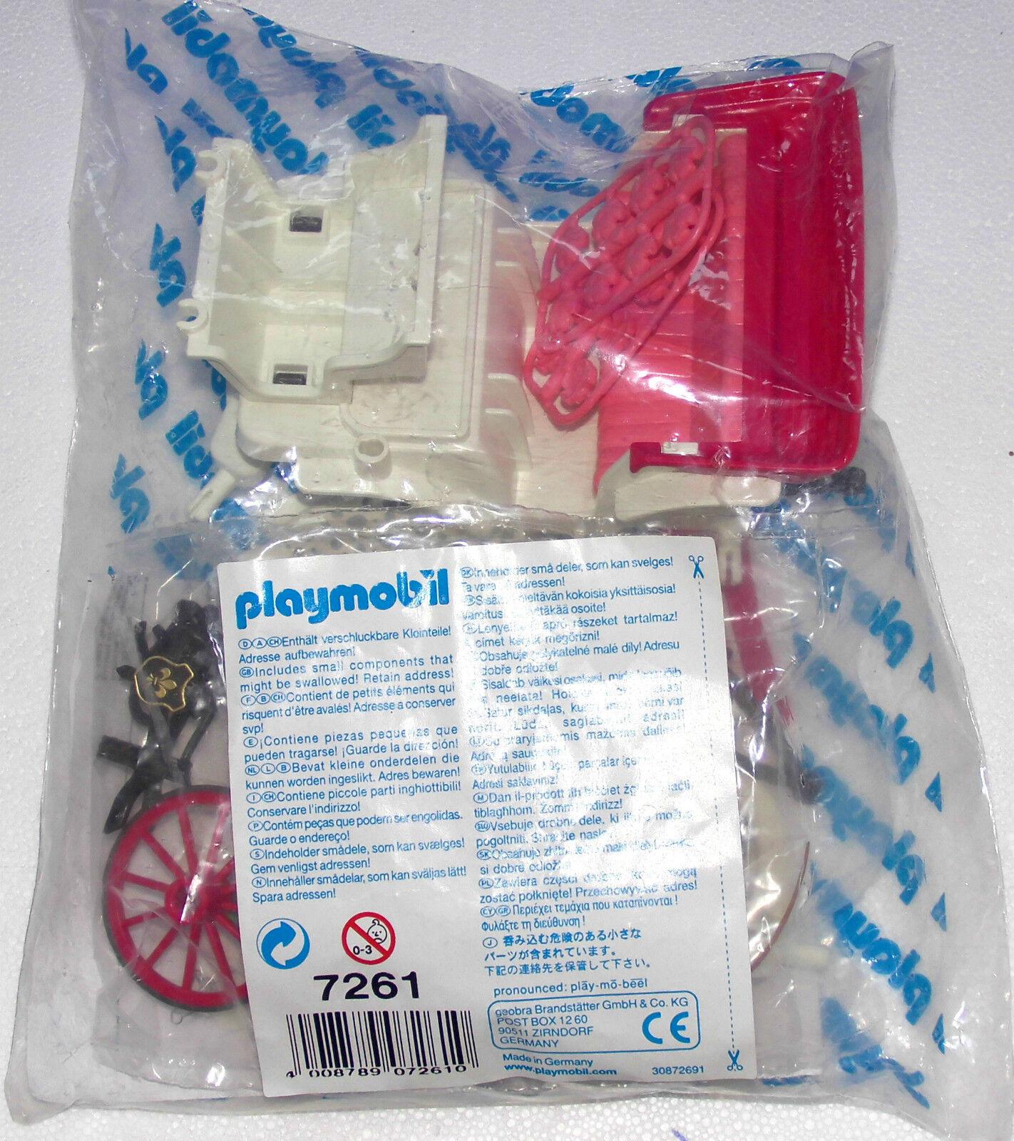 Matrimonio Wagonzza Playmobil 7261  per 5601 in Originale Pellicola Nuovo - Top  outlet