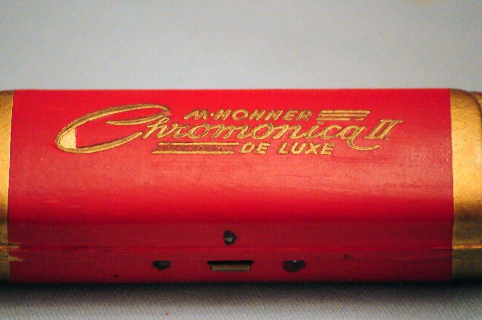 Hohner Chromonika II de Luxe 1950er Jahre