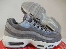 Nike Air Max 95 LX Luxe Gunsmoke Grey Suede Leather WMNS Sz 7.5 Aa1103 003