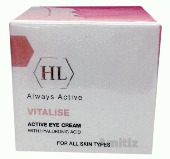 HL HOLY LAND Vitalise Active Eye Cream with Hyaluronic Acid 15ml / 0.5oz