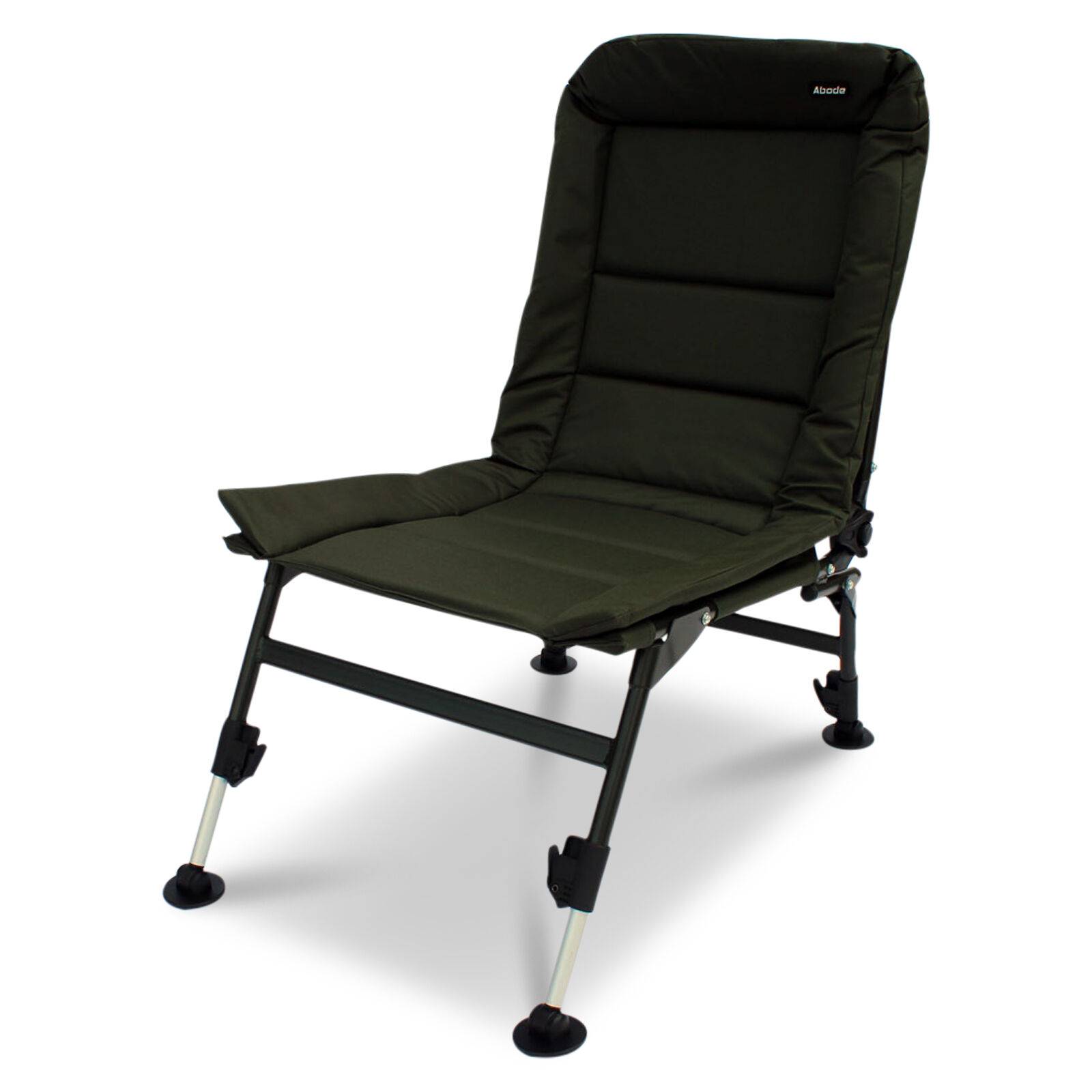 ABODE  Carp Fishing Camping Chair, Bed, Bedchair, Blanket & Pillow