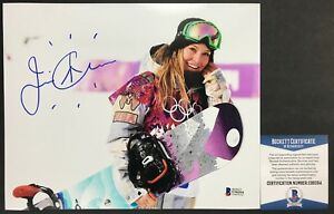 USA OLYMPICS!!! Jamie Anderson Signed GOLD MEDAL 8x10 ...