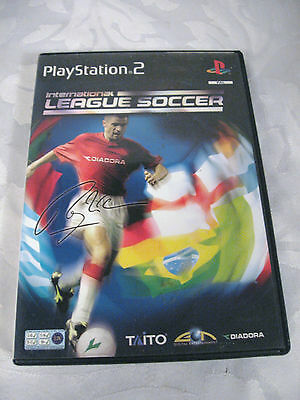 Playstation 2 International League Soccer Box & Manual Only Video Games & Consoles