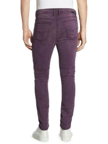 Men/'s DIESEL BAKARI NE Blue Green Grey Purple Moto Slim Jogg Sweat Jeans Pants