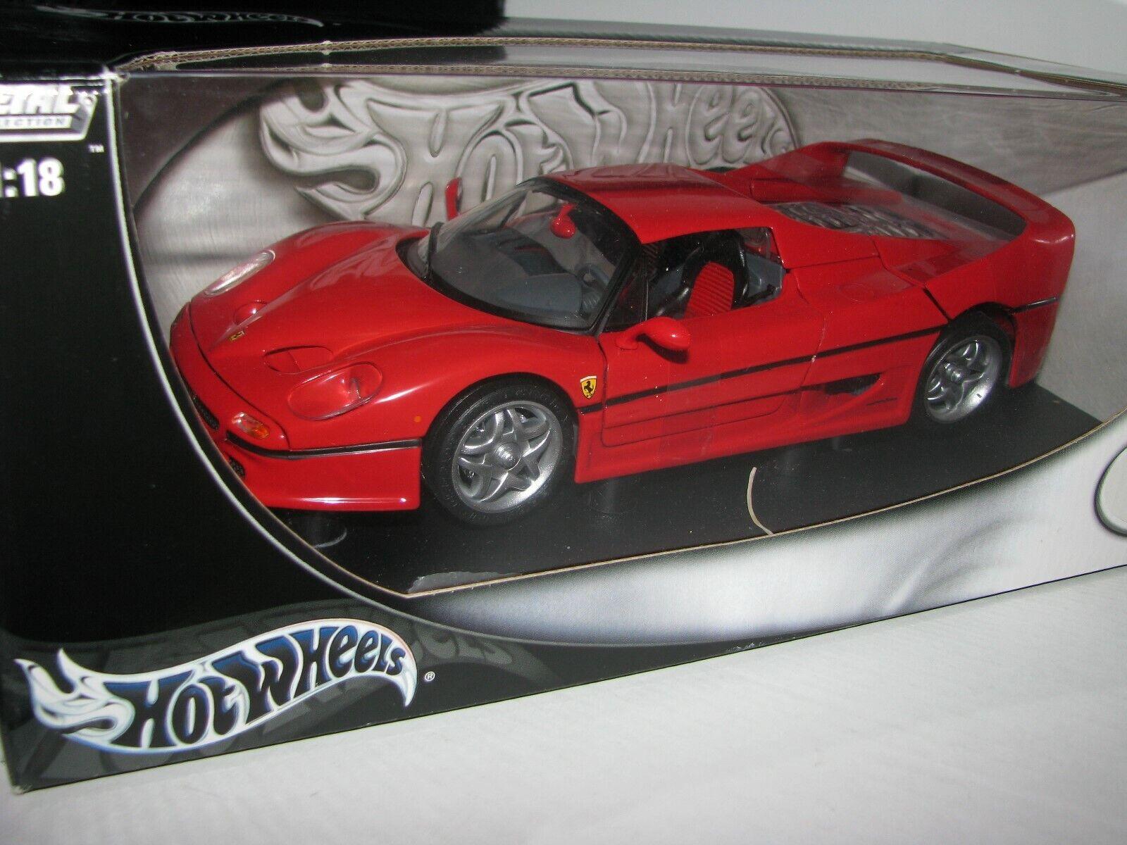 1 18 Hot Wklackar Ferrari F50 röd