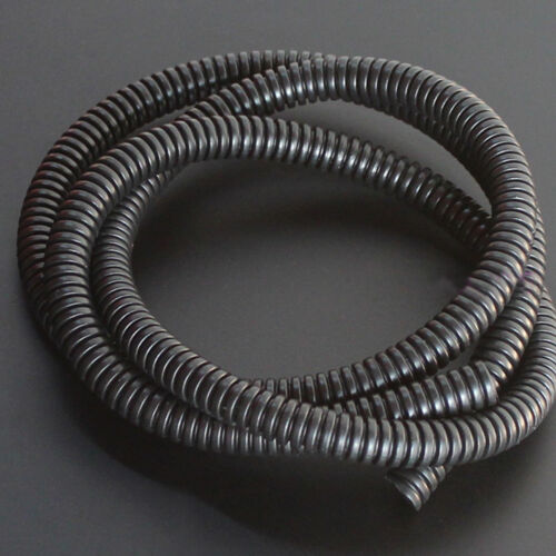 """50/' Feet 1/"""" Split Loom Wire Flexible Tubing Wire Cable Conduit Hose Cover Car"""