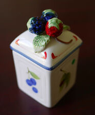 Villeroy and Boch Cottage Charm Berries Small Canister