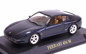 DIE-CAST-MODEL-1-43-FERRARI-456-M-BLU-METAL-1998
