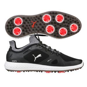 a9bc1b175db2f8 Puma IGNITE PWRADAPT Golf Shoes 2018 Black White 189891 02 NEW 10215 ...