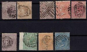 G140026-MAURITIUS-BRITISH-COLONY-LOT-1860-1872-USED-CV-350