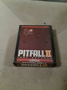 Pitfall-II-Lost-Caverns-by-Activision-4-Atari-2600-CART-ONLY-FREE-SHIP