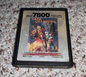 Dark-Chambers-Atari-7800-1988-Vintage-Video-Game